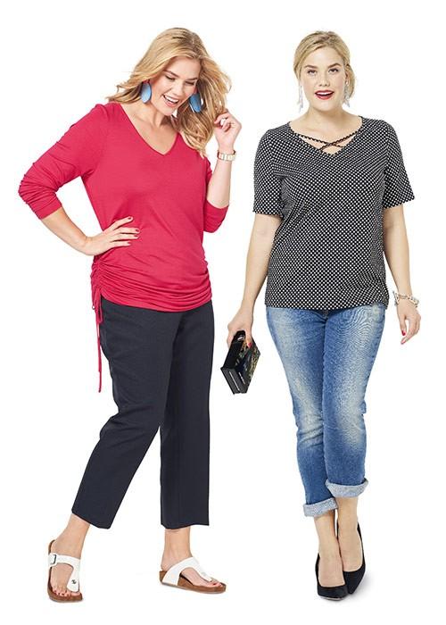 Выкройка Burda №6308 — Рубашка с длинным или коротким рукавом