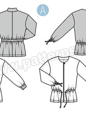 Выкройка Burda  6379 — Куртка