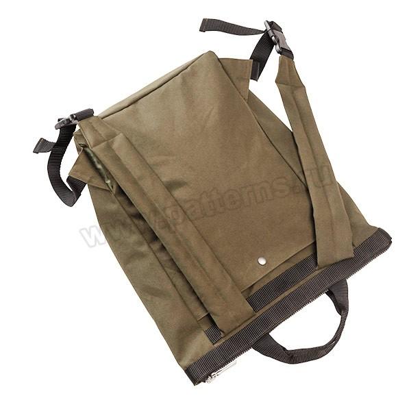 Выкройка Burda №6400 — Сумка и рюкзак