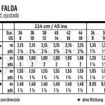 Выкройка Burda №6469 — Юбка прямая