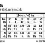Выкройка Burda №6480 — Юбка