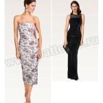 Выкройка Burda №6483 — Вечернее платье