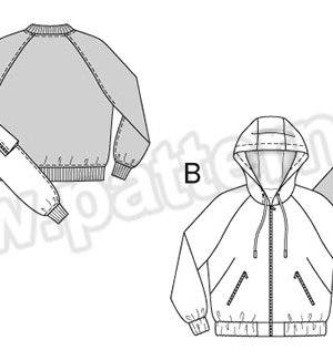 Выкройка Burda №6489 — Куртка