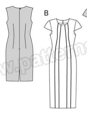 Выкройка Burda №6510 — Платье