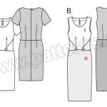 Выкройка Burda №6522 — Платье
