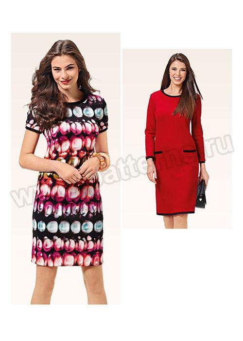 Выкройка Burda №6604 — Платье