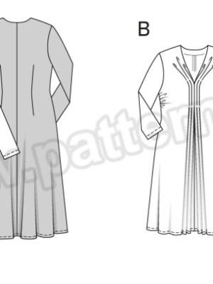Выкройка Burda №6618 — Платье