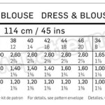 Выкройка Burda №6684 — Платье, Блуза
