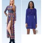 Выкройка Burda №6720 — Платье