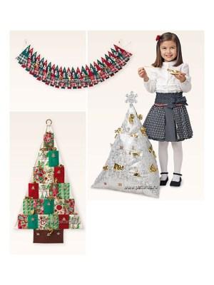 Выкройка Burda №6755 — Новогодние украшения