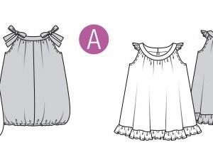 Выкройка Burda  9320 — Платье