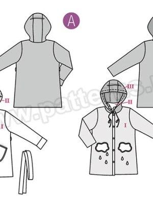 Выкройка Burda №9334 — Пальто