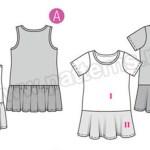 Выкройка Burda №9341 — Платье