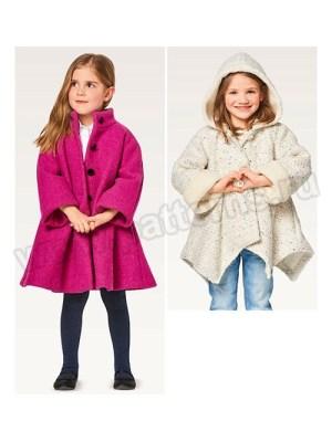 Выкройка Burda №9353 — Пальто