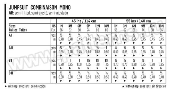 Выкройка Burda №9369 — Комбинезон