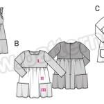 Выкройка Burda №9373 — Платье
