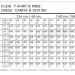 Выкройка Burda №9391 — Платье, Футболка