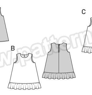 Выкройка Burda №9420 — Платье-сарафан