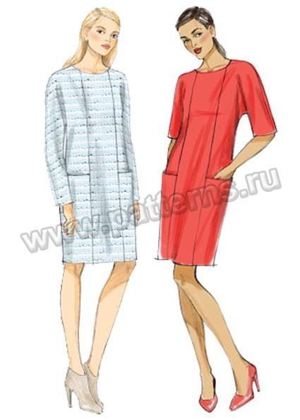 Базовое платье