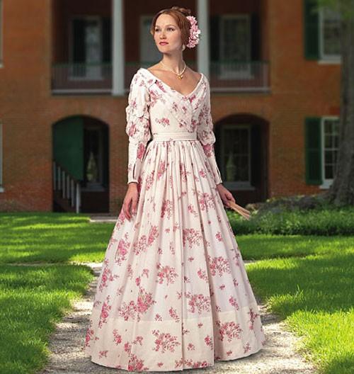 Женское платье 1837-1840 гг.