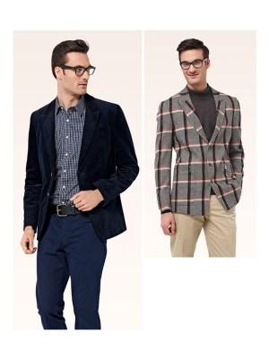 Выкройка Burda №6872 — Мужской пиджак