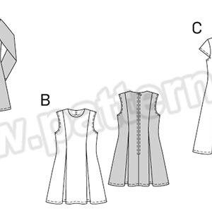 Выкройка Burda №9431 — Платье