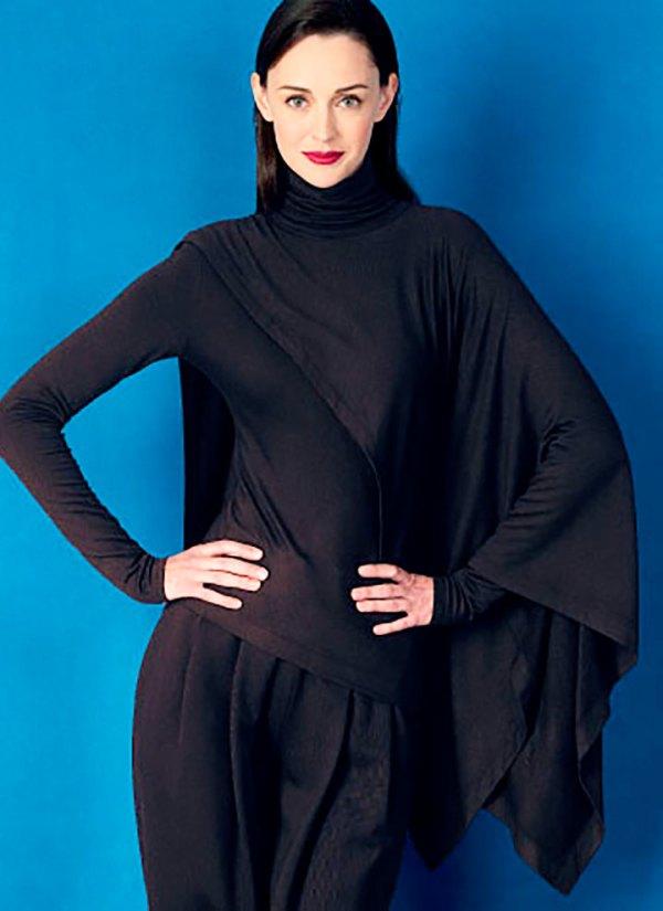 Выкройка Vogue №1417 — Костюм (пуловер и брюки) от Donna Karan