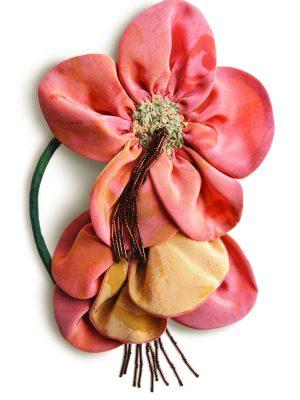 Сшейте своими руками цветок из ткани