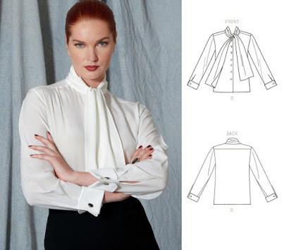 Как сшить блузку по выкройке 1527