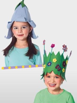 Выкройка Burda №2377 — Карнавальные шляпы