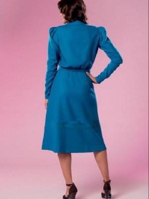 Выкройка Butterick №6282 — Ретро 1941: Платье
