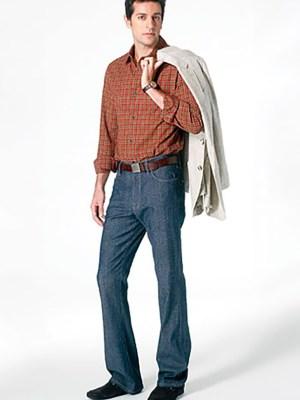 Выкройка Vogue  8801 — Джинсы мужские