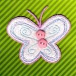 Термоаппликация Mono Quick (12240) – Бабочка