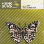 Термоаппликация Mono Quick (12433) – Бабочка черная с золотыми пайетками