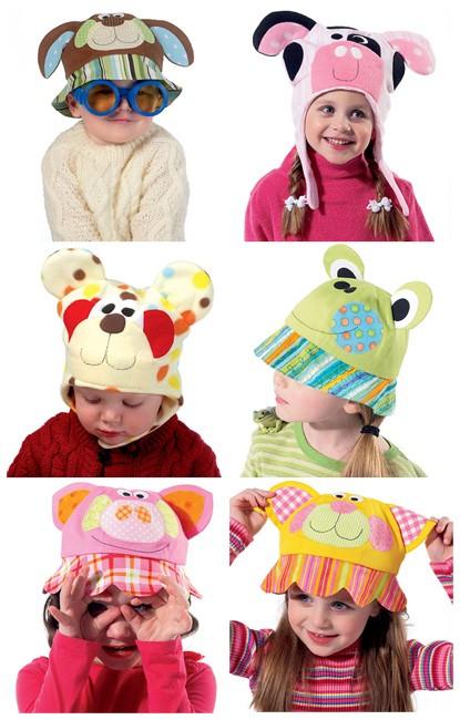Выкройка McCall's — Детские шапки - M6616