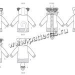 Выкройка McCall's — Куртка с аппликациями животных - M6828