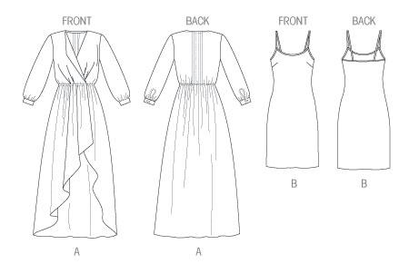 Выкройка McCall's — Платье - M6790 ()