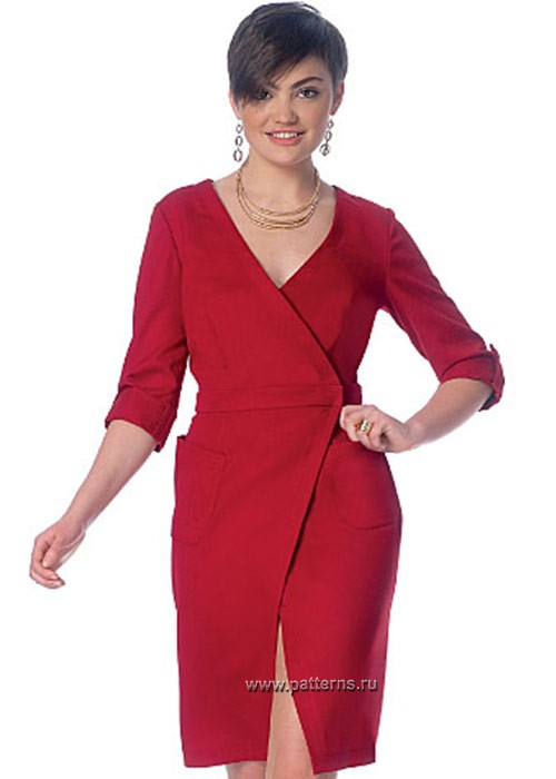 Выкройка McCall's — Платье - M7185 ()