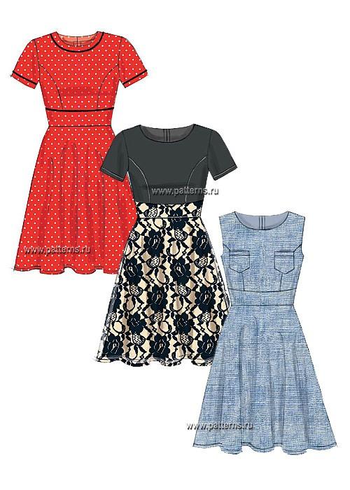 Выкройка McCall's — Платье - M7188 ()