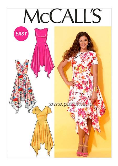 Выкройка McCall's — Платье - M7315