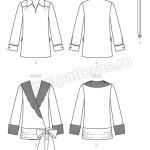 Выкройка McCall's — Стиль 1927: Блуза - M7250 ()