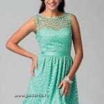 Выкройка McCall's — Вечернее платье - M6893
