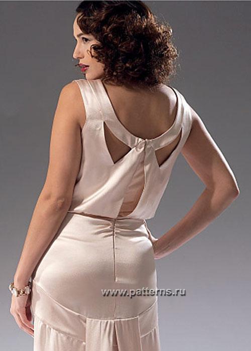 Выкройка McCall's — Вечернее платье - M7154