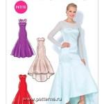 Выкройка McCall's — Вечернее платье - M7320