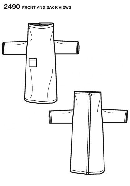 Выкройка Simplicity — Халат-Одеяло - S2490 ()