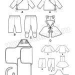 Выкройка Simplicity — Комплект для малыша - S1564