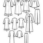 Выкройка Simplicity — Одежда для сна - S2819 ()