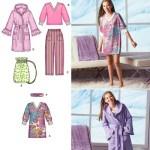 Выкройка Simplicity — Пижама, Халат, Сумка - S2749
