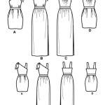 Выкройка Simplicity — Платье - S2178