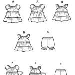 Выкройка Simplicity — Платье, Штанишки - S1669